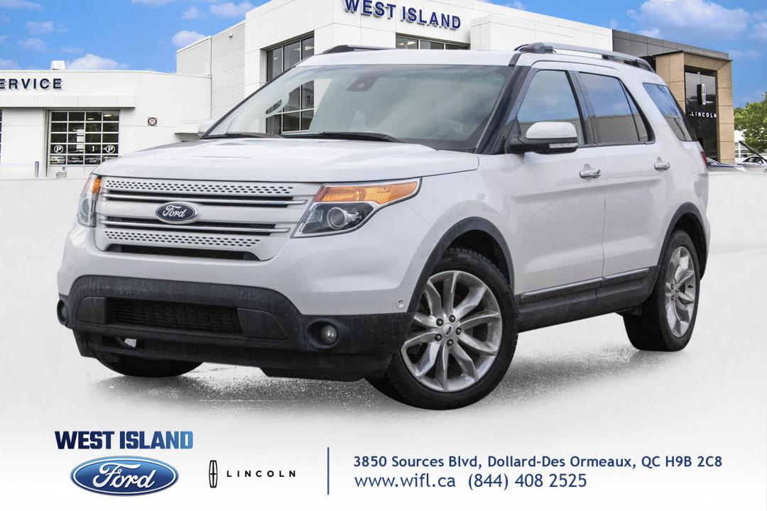 Ford Explorer Limited 4wd No Accident And Well Equipp 2015 Blanc Dollard Des Ormeaux H9b 2c8 7698698 Ford Explorer 2015 For Sale On Autoaubaine Com